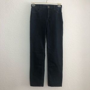 Not Your Daughters Jeans Navy Straight Leg Jeans